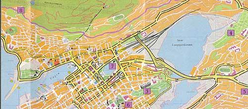 kart over bergen sentrum Bergen   Rhododendronens by — Bergen Offentlige Bibliotek kart over bergen sentrum